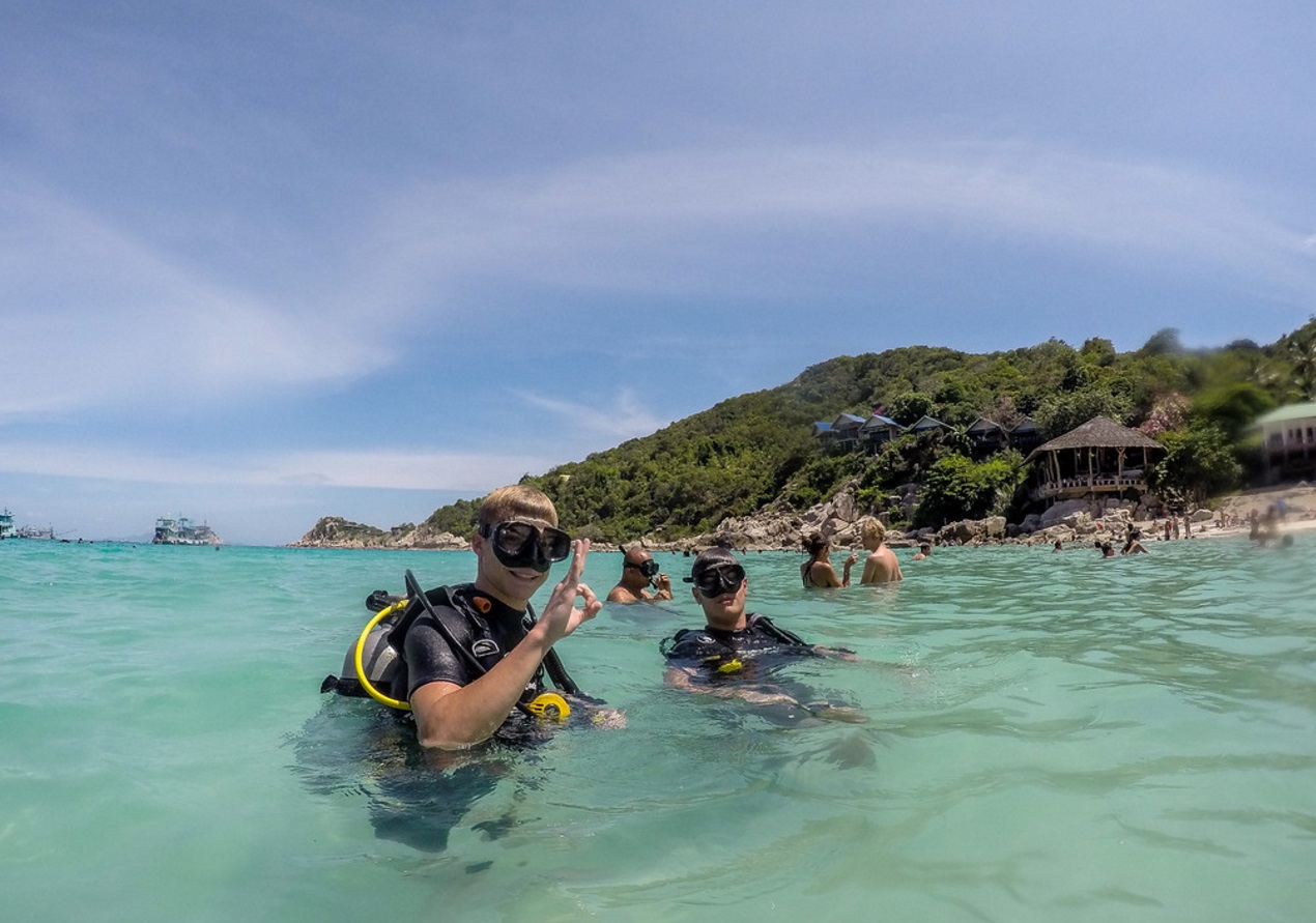 Padi open water diver siam scuba center padi open water diver fandeluxe Choice Image